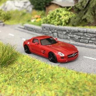 Mercedes SLS AMG Rouge-HO 1/87-HERPA 430784