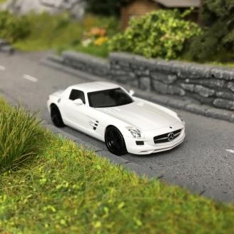 Mercedes SLS AMG Blanche-HO 1/87-HERPA 420501