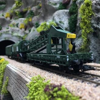 Grue à vapeur Ardelt 058 digitale son 3R-HO-1/87-MARKLIN 49571