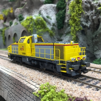 Locomotive BB60000 660 168 INFRA Ep VI SNCF-HO 1/87-PIKO 96483