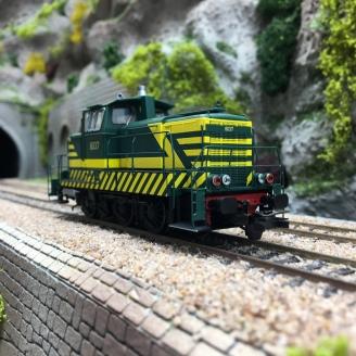Locomotive Rh 8037 Ep IV SNCB digital son-HO 1/87-PIKO 55904