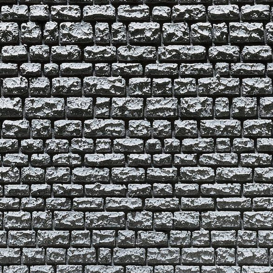 2 Plaques décoration pierre maçonnée naturelle-HO-1/87-FALLER 170863