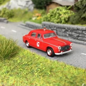 """Peugeot 403 Sapeurs Pompiers """"18"""" 1959-HO 1/87-SAI 6221"""