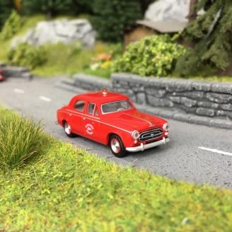 Peugeot 403 Pompiers des Ardennes 1959-HO 1/87-SAI 6225