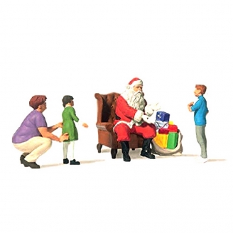 Scène de Noël-HO 1/87-PREISER 10763