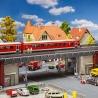 """Pont Urbain """"RER"""" - HO 1/87 - FALLER 120581"""