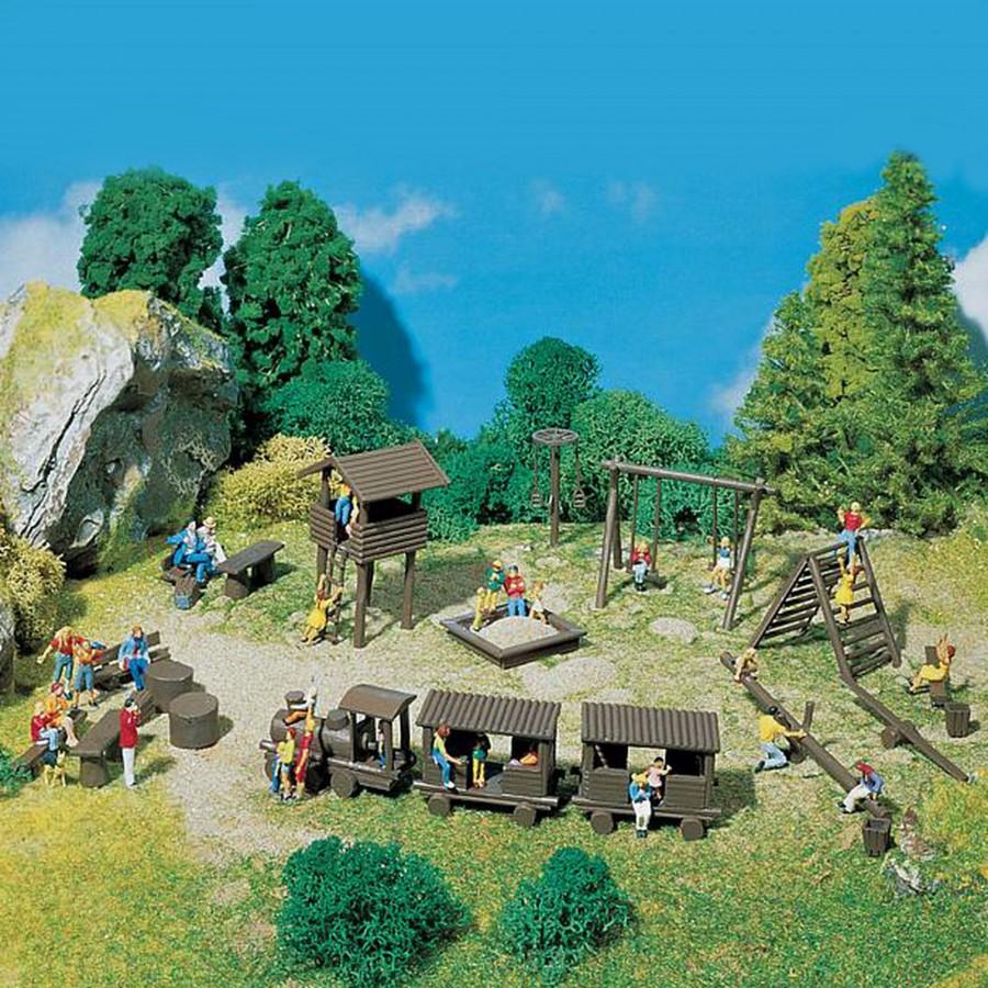 Set jeu public d'aventure pour enfants-HO-1/87-FALLER 180577