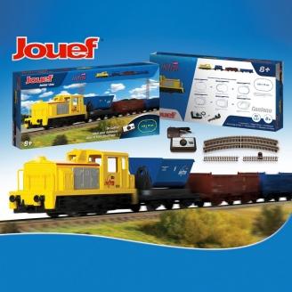 Coffret de démarrage SNCF, INFRA 4 éléments-HO 1/87-JOUEF HJ1062
