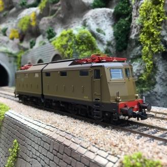 Locomotive E 646 033 Ep III FS-HO 1/87-RIVAROSSI HR2739