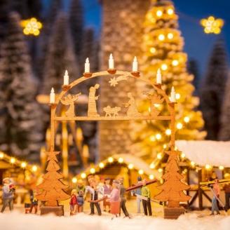 Arche d'entrée au marché de Noël - N 1/160 - NOCH 14681