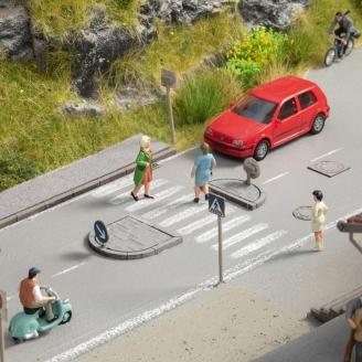 Set d'aménagements routiers - HO 1/87 - NOCH 60525