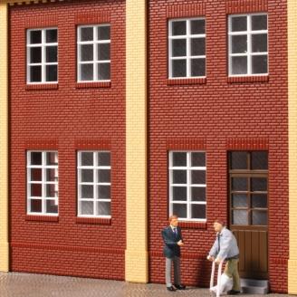 60 fenêtres blanches-HO 1/87-AUHAGEN 80222