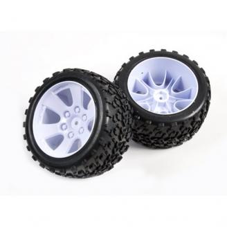 2 roues Buggy TT Hexa 12 mm - 1/10 - T2M T4900/1A