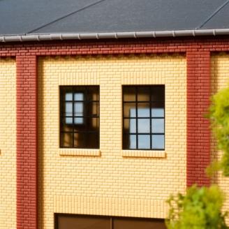 30 fenêtres 12 x 17 mm - HO 1/87 - AUHAGEN 80221