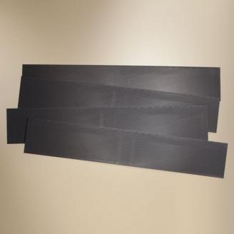 4 Plaques de toit type Ardoise 255 x 45 mm- HO 1/87 - AUHAGEN 41631