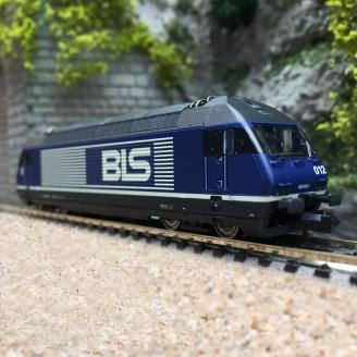 Locomotive Re 465, BLS Ep V- N 1/160 -FLEISCHMANN 731401