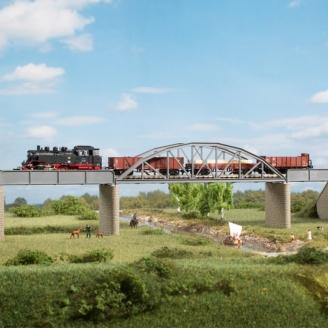 Pont Structure métallique-N 1/160-AUHAGEN 14483