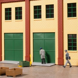 Portails, Portes, rampes d'accès et marches-HO 1/87-AUHAGEN 80256
