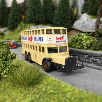 "Bus double étage ""Sarotti""-HO 1/87-WIKING OC031120B"