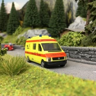 Ambulance VW Secourisme-HO 1/87-HERPA DEP17-179