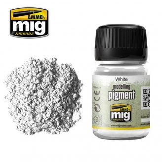 "Pigments ""White - Blanc"" - AMMO 3016"