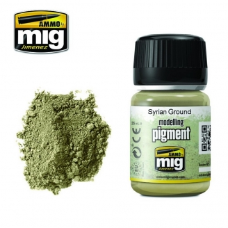 "Pigments ""Syrian Ground - Sol Syrien"" - AMMO 3025"