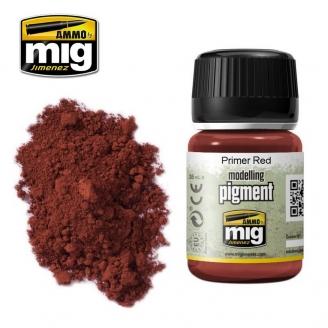 "Pigments ""Primer Red - Apprêt Rouge"" - AMMO 3017"
