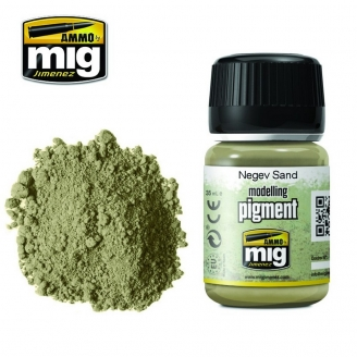 """Pigments """"Negev Sand - Sable du Néguev"""" - AMMO 3024"""