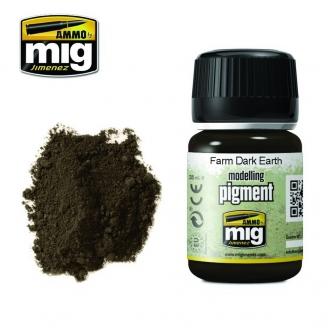 "Pigments ""Farm Dark Earth - Terre Foncée de Ferme"" - AMMO 3027"
