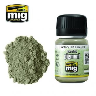 """Pigments """"Factory Dirt Ground - Saleté de sol d'usine"""" - AMMO 3030"""