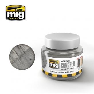 """Texture Acrylique """"Concrete - Béton"""" - AMMO 2108"""