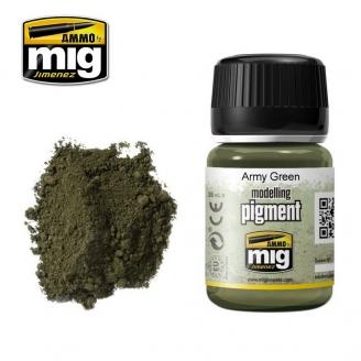 "Pigments ""Army Green - Vert Armée"" - AMMO 3019"