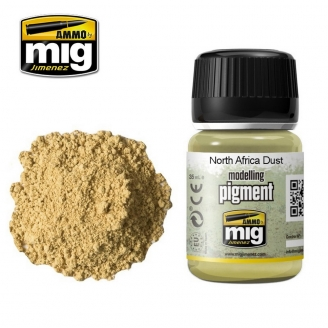 """Pigments """"North Africa Dust - Poussière Nord Africaine"""" - AMMO 3003"""