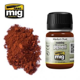 "Pigments ""Medium Rust - Rouille Moyenne"" - AMMO 3005"