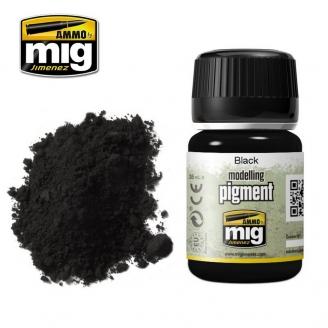 """Pigments """"Black - Noir"""" - AMMO 3001"""