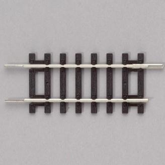 2 Rails de transition 61,88 mm-HO 1/87-PIKO 55207