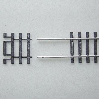 Traverses de rail 31 mm pour rail flexible-HO 1/87-PIKO 55282