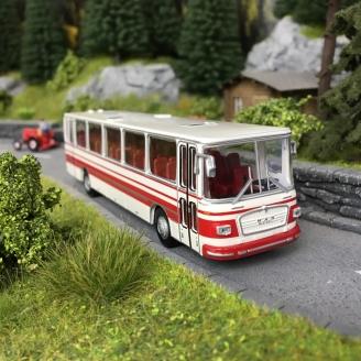 Bus MAN 750 Rouge/Blanc-HO 1/87-BREKINA 59251