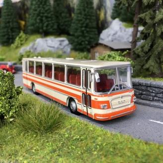 Bus MAN 750 Beige/Orange-HO 1/87-BREKINA 59250