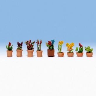 9 Plantes en pots - N 1/160 - NOCH 14080