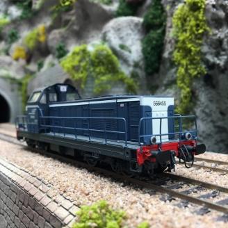 Locomotive BB566455 Longueau SNCF Ep V - HO 1/87 -  JOUEF HJ2376