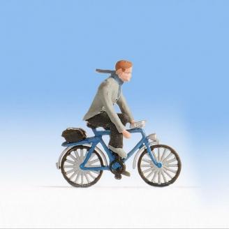 Cycliste allant travailler - HO 1/87 - NOCH 1589801