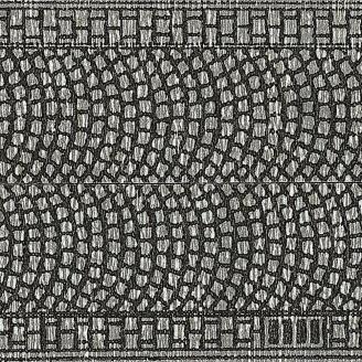 Chemin pavé autocollant 1m x 25 mm - Z 1/220 - NOCH 44070