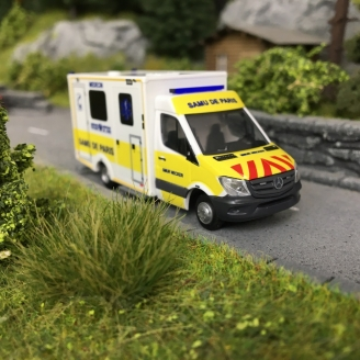 Ambulance SAMU de Paris-HO 1/87-RIETZE 76265