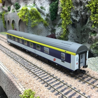 Voiture WLAB ex T2S ÖBB-HO 1/87-RAIL TOP MODELL 13006 DEP305-021