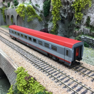 Voiture 2CL Bpm2 ÖBB -HO 1/87-RAIL TOP MODELL 13017 DEP305-022