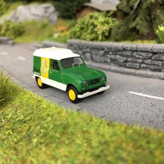 """Renault 4L fourgonnette """"Motoculture""""-HO-1/87-BREKINA 14729"""