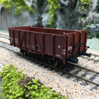 Wagon tombereau 653349 Ep III SNCF-HO 1/87-BRAWA 48447