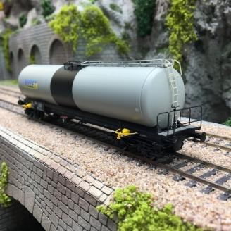 """Wagon citerne UAHS """"MILLET"""" Ep IV SNCF-HO 1/87-BRAWA 50503"""