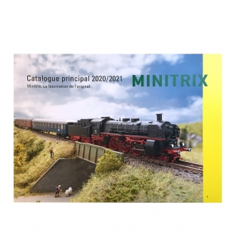 Catalogue Principal Minitrix 2020-21 français 130 pages - MINITRIX 19854